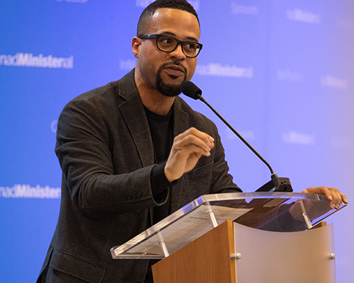 Pastor David Franklin at 2018 eHuddle
