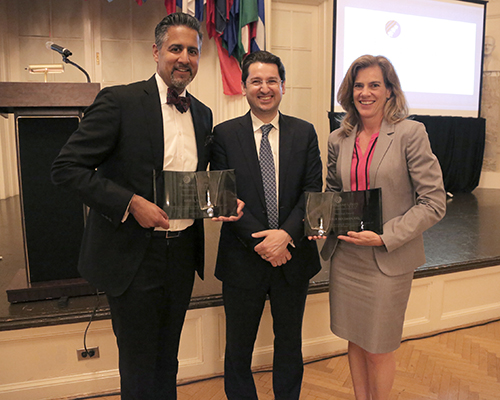 May 22, 2018, Religious Liberty Dinner award recipients and keynote speaker