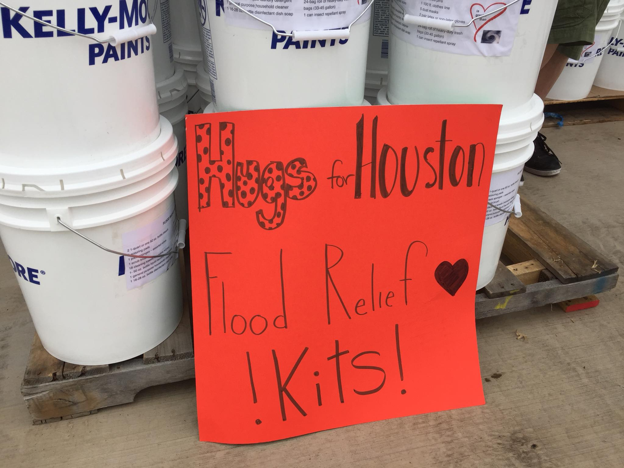 flood relief buckets