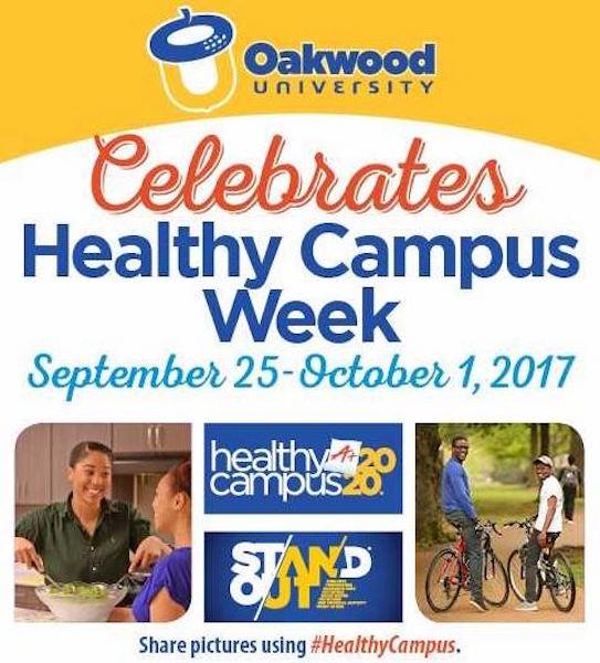 oakwood healthy campus week