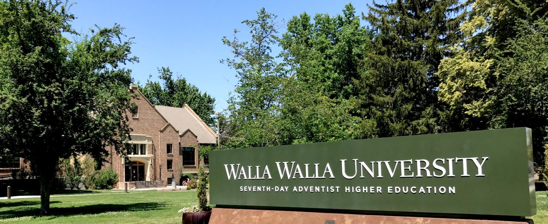 Walla Walla sign