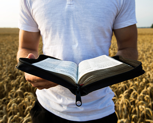 eHuddle article photo young man reading Bible