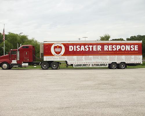 Texas ACS truck