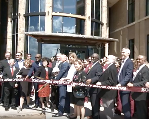 SWAU opens new nursing and administration building