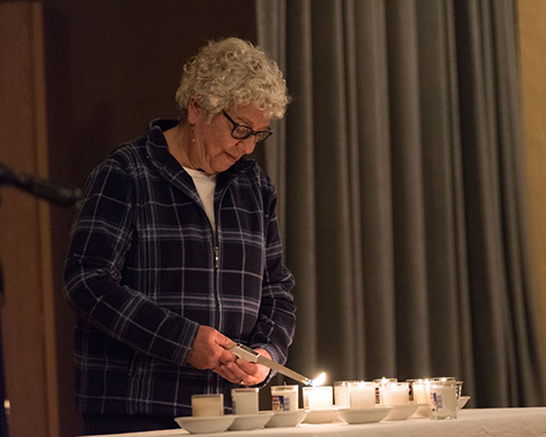 AU interfaith prayer meeting for Jewish victims of Pittsburgh synagogue shooting where 11 lost their lives.