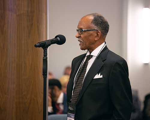 NAD Vice President Alvin Kibble asks the executive committee to consider ways to help the emerging immigrant and refugee populations within the division's territory.