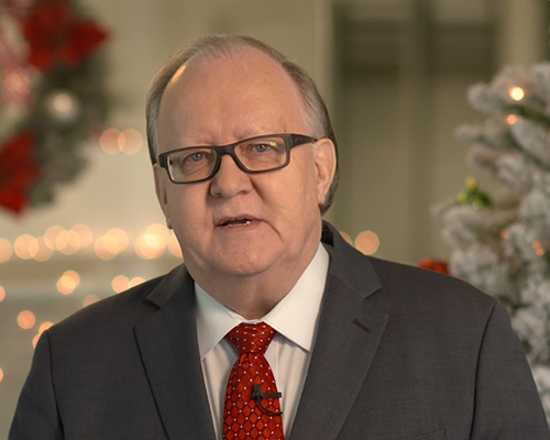 Dan Jackson, NAD president, 2019 holiday greeting