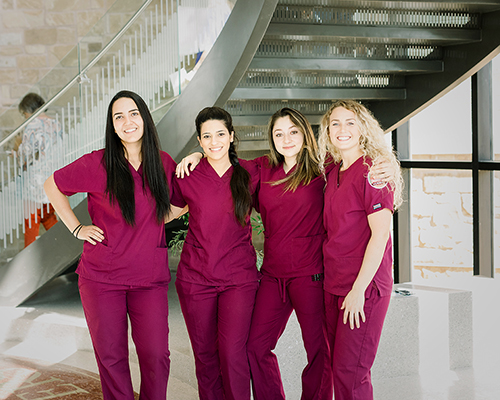 SWAU nursing students