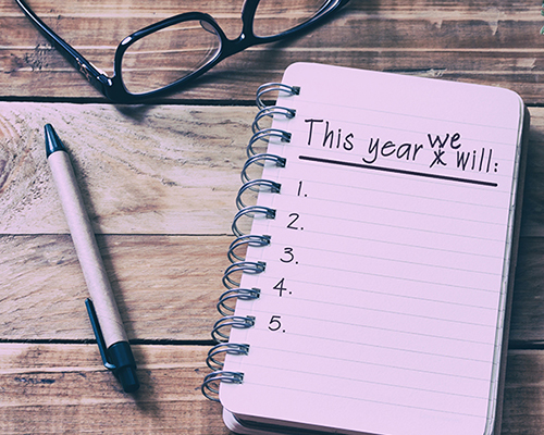 This year we will...