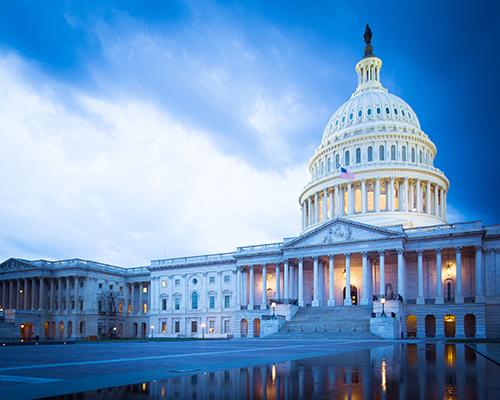 front of U.S. Capitol