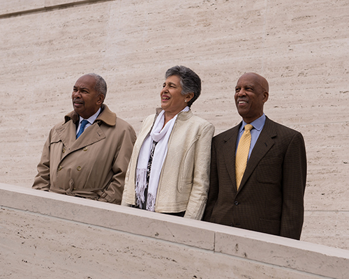 Three of Little Rock Nine, Terrence Roberts