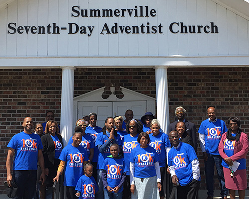 Summerville Adventist Church Touch 10K Challenge