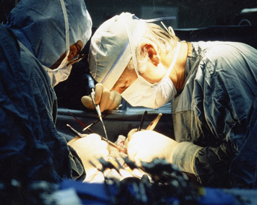 Dr. Leonard Bailey, Heart Surgeon