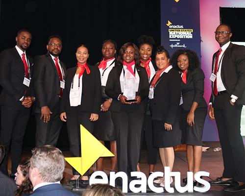 WAU 2019 Enactus team