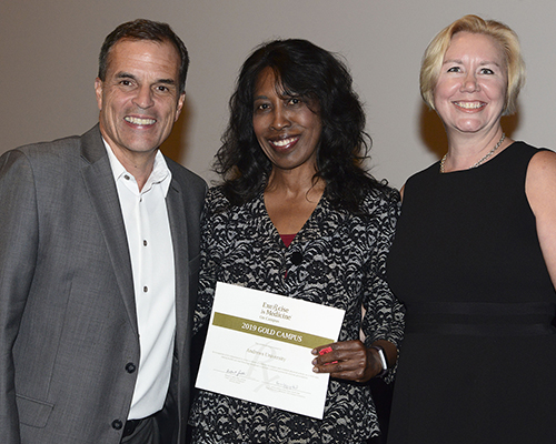 EIM CO award given to Andrews