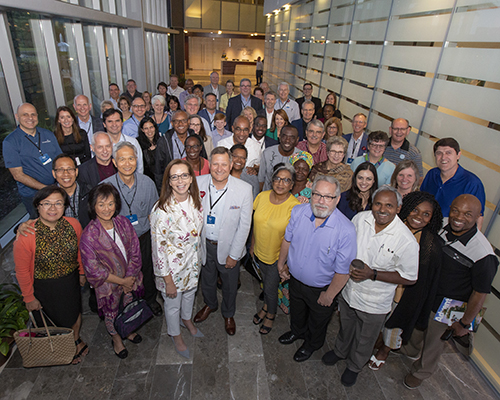 group photo from 2019 NAD Experience, AdventHealth in Florida