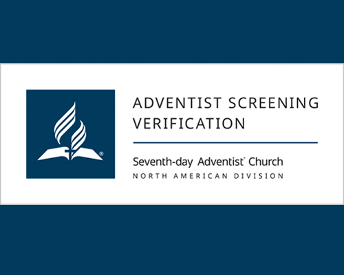 Adventist Screening Verification