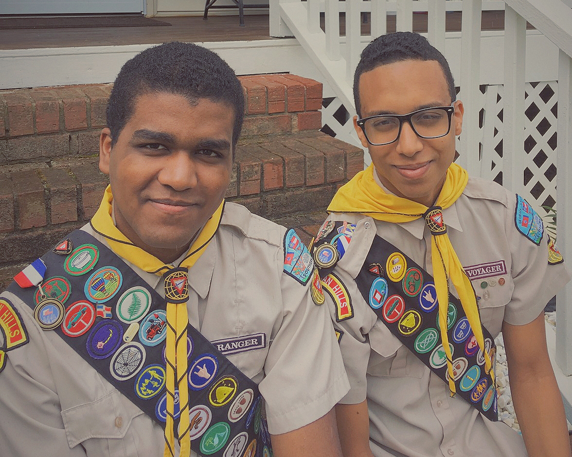 Pathfinders Roger and Ariel