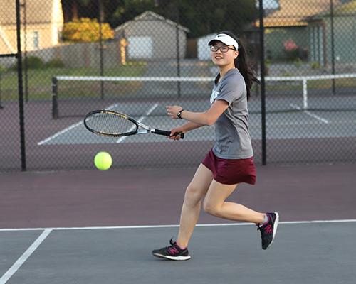 Tennis Player Joelle Chung