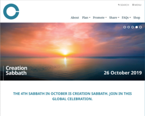 Creation Sabbath updated website