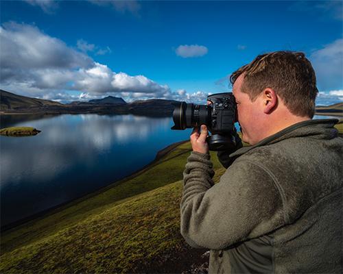 Iceland Photo Tour participant Adventist Enno Mueller