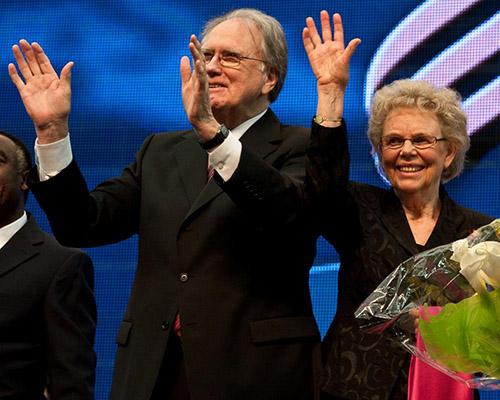 Jan and Kari Paulsen at GC Session 2010