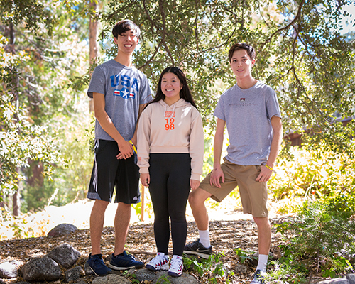 Three presidential scholars enrolled at La Sierra University