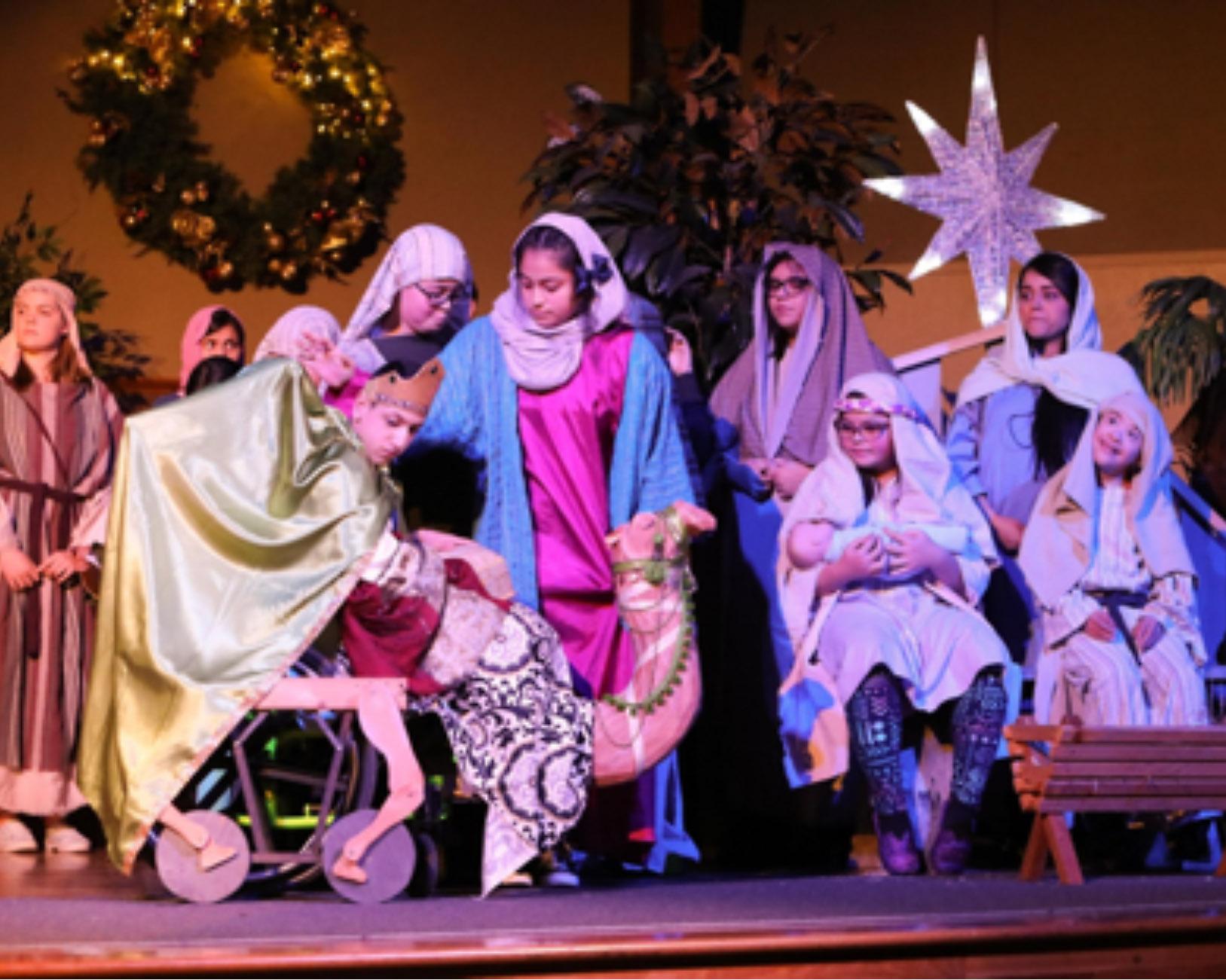 Dec 2018 sample of special needs nativity in Washington