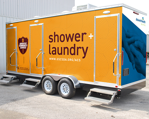 shower trailer Gulf States