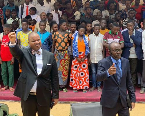 Carton Byrd leads revival in Tanzania