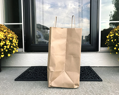 stock photo of grocery bag
