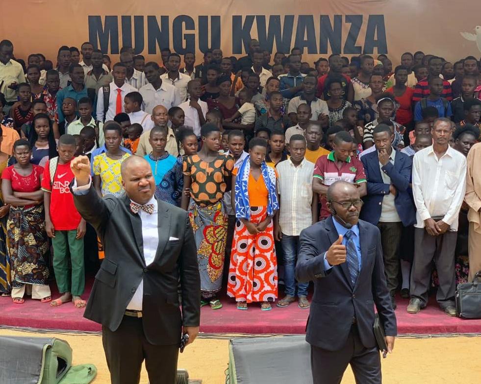 "Carlton P. Byrd at the ""Mungu Kwanza"" in Tanzania"