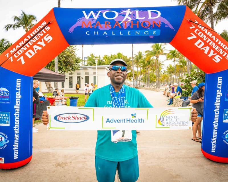 Luis Allen AdventHealth doctor and marathon runner