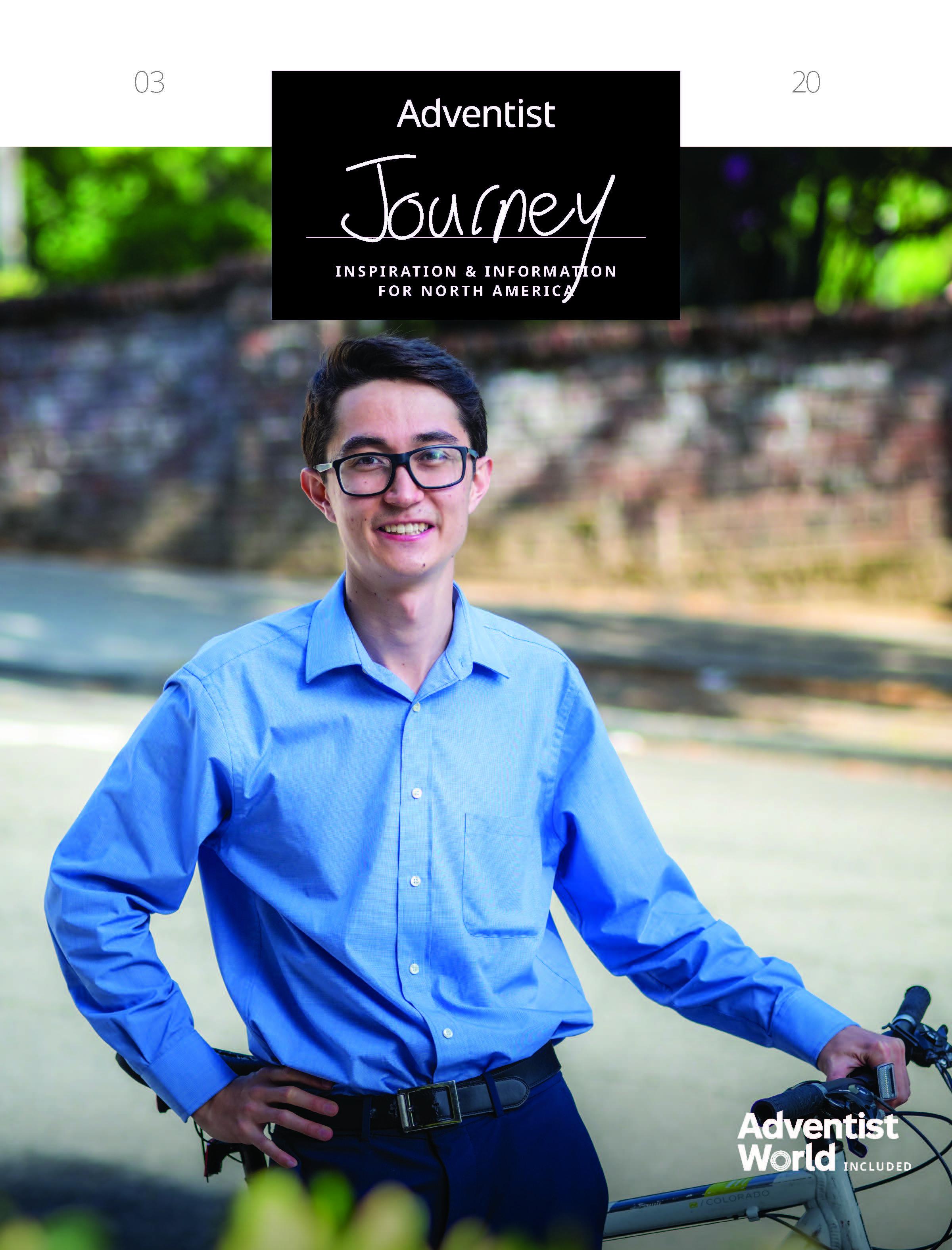 March Adventist Journey cover - John Van Patten