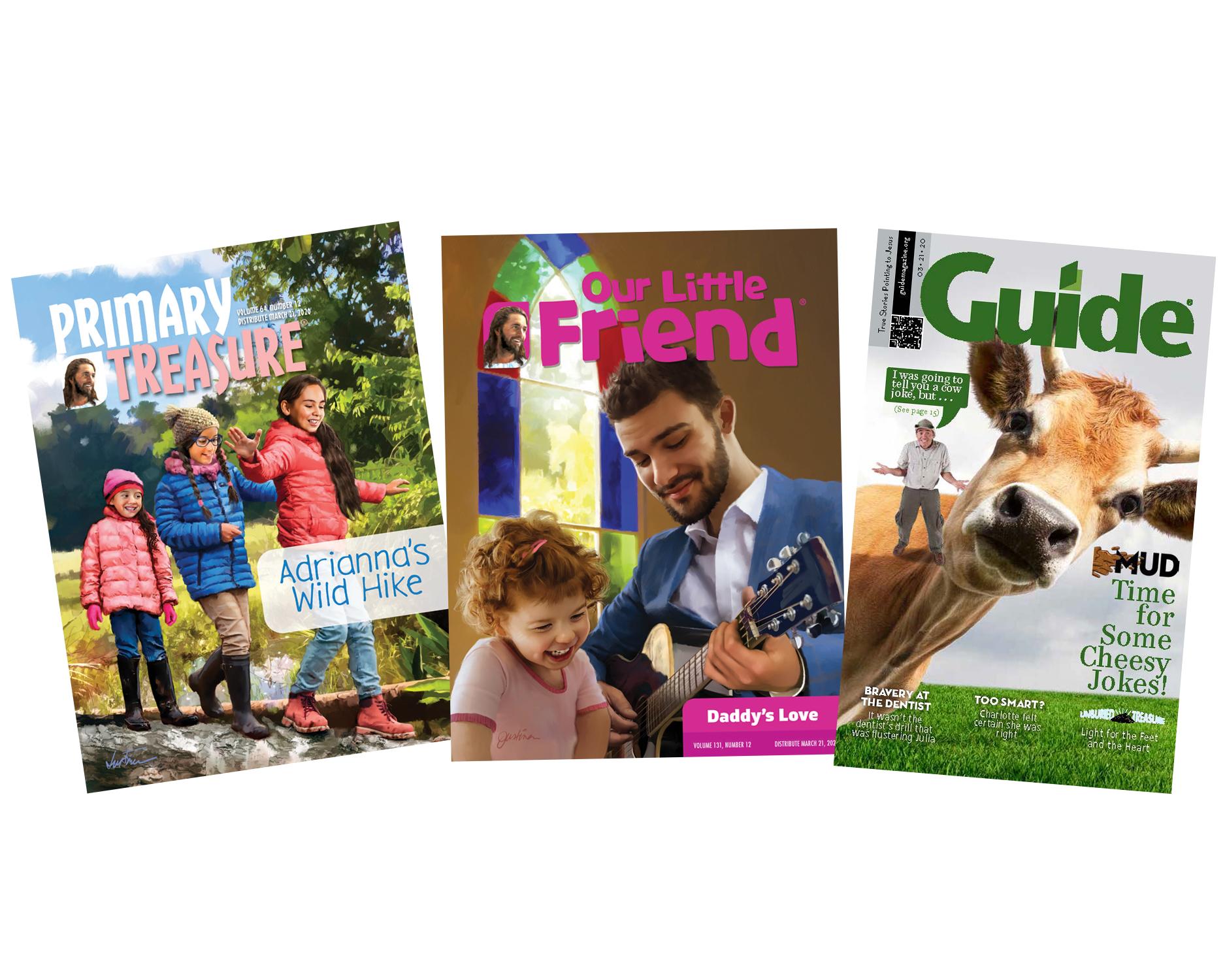 Pacific Press kids' magazines