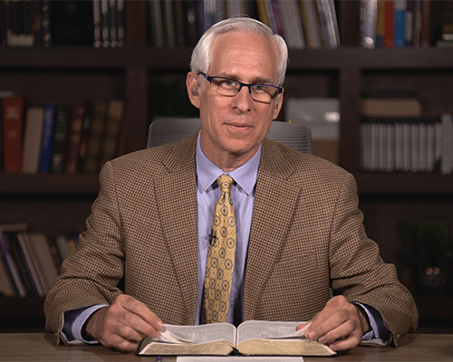 Michael Hasel, co-author of the current Adult Sabbath School Bible Study