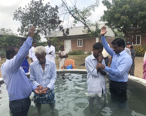 India baptism It Is Written