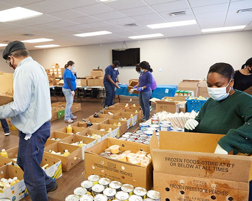 Harbor of Hope ACS food pantry