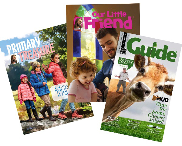 Primary Treasure, My Little Friend, and Guide magazines