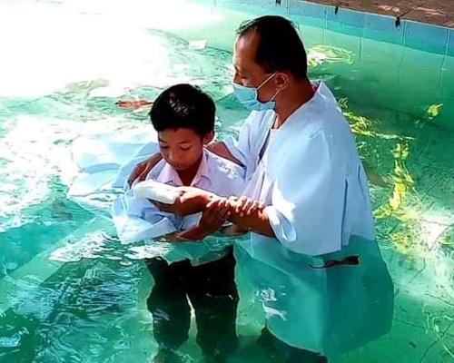 SSD child baptism