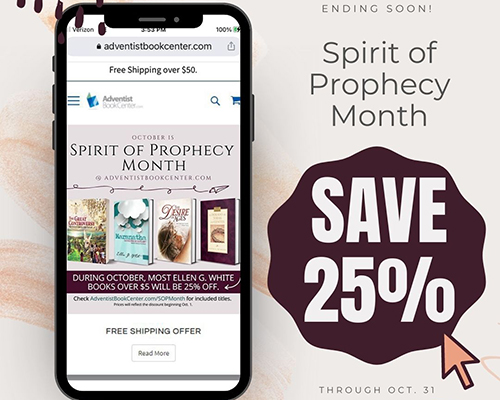 Pacific Press October Spirit of Prophecy month