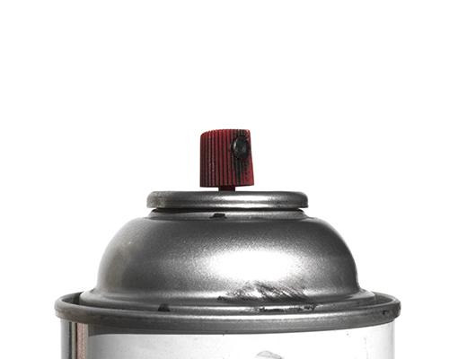 stock photo of spraypaint can