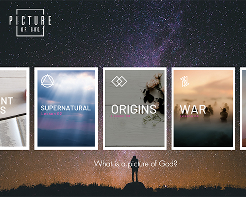 A Picture of God website