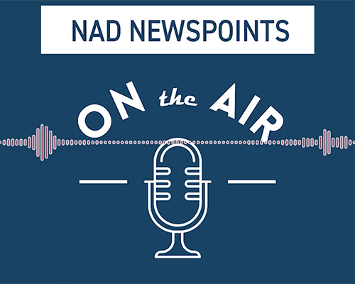 NP ON THE AIR logo