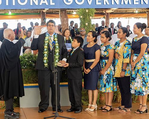 Palau presidential inauguration