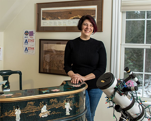 NASA scientist R. Aileen Yingst