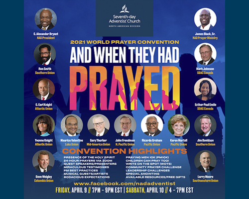 NAD 2021 prayer convention graphic