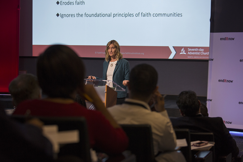 """""Policy is ethics in writing, we need to make it ethics in action,"" states Kate Ott, associate professor of Christian social ethics at Drew Theological School, and lecturer in practical theology at Yale Divinity School."""