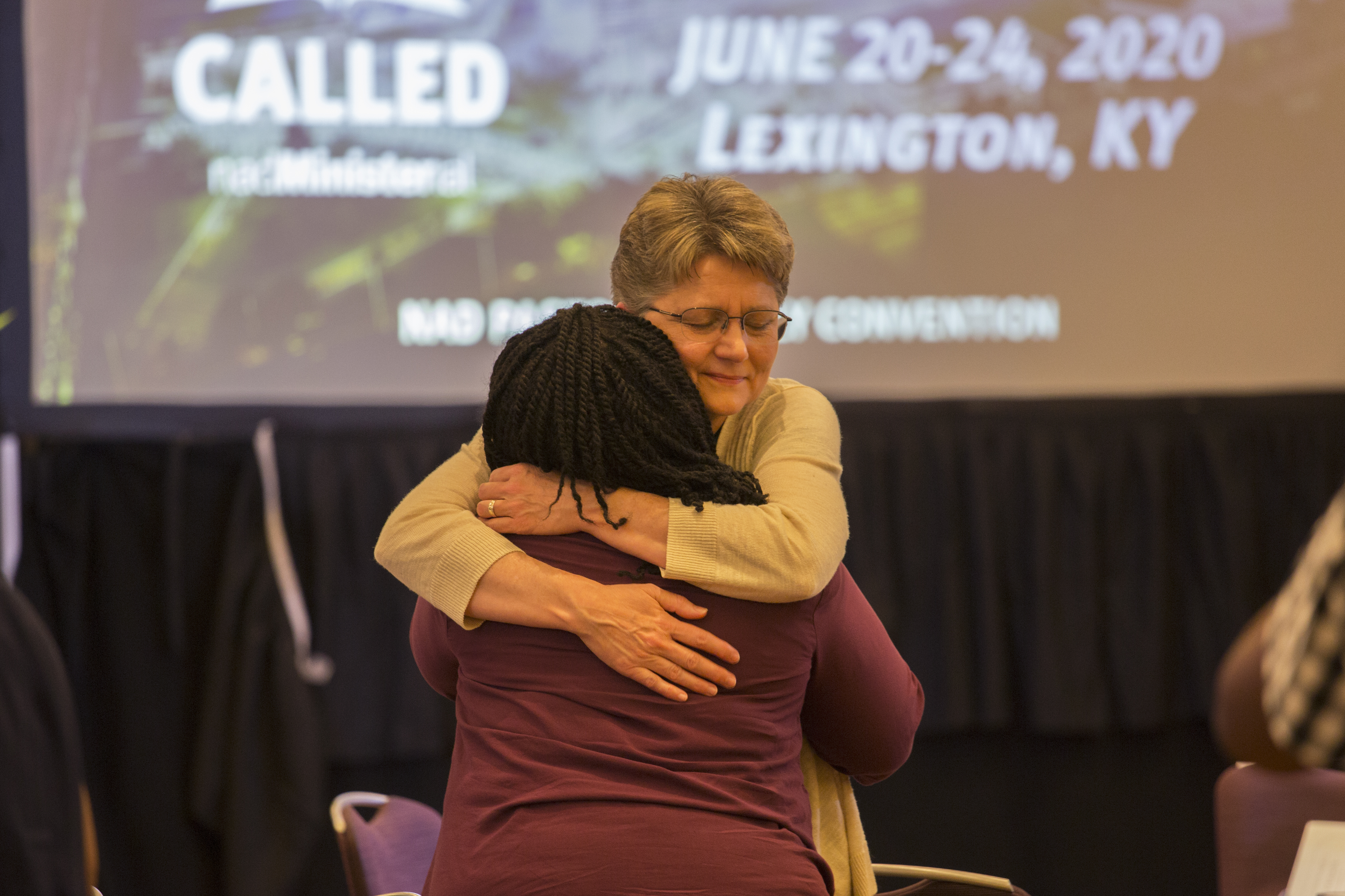 The clergy seized every opportunity to encourage each other through prayer, and expressions of support and love.
