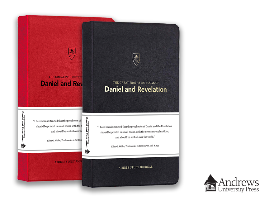 Daniel and Revelation study book red and black covers